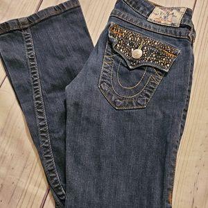 Women's True Religion Flare Size 26 Jeans/51